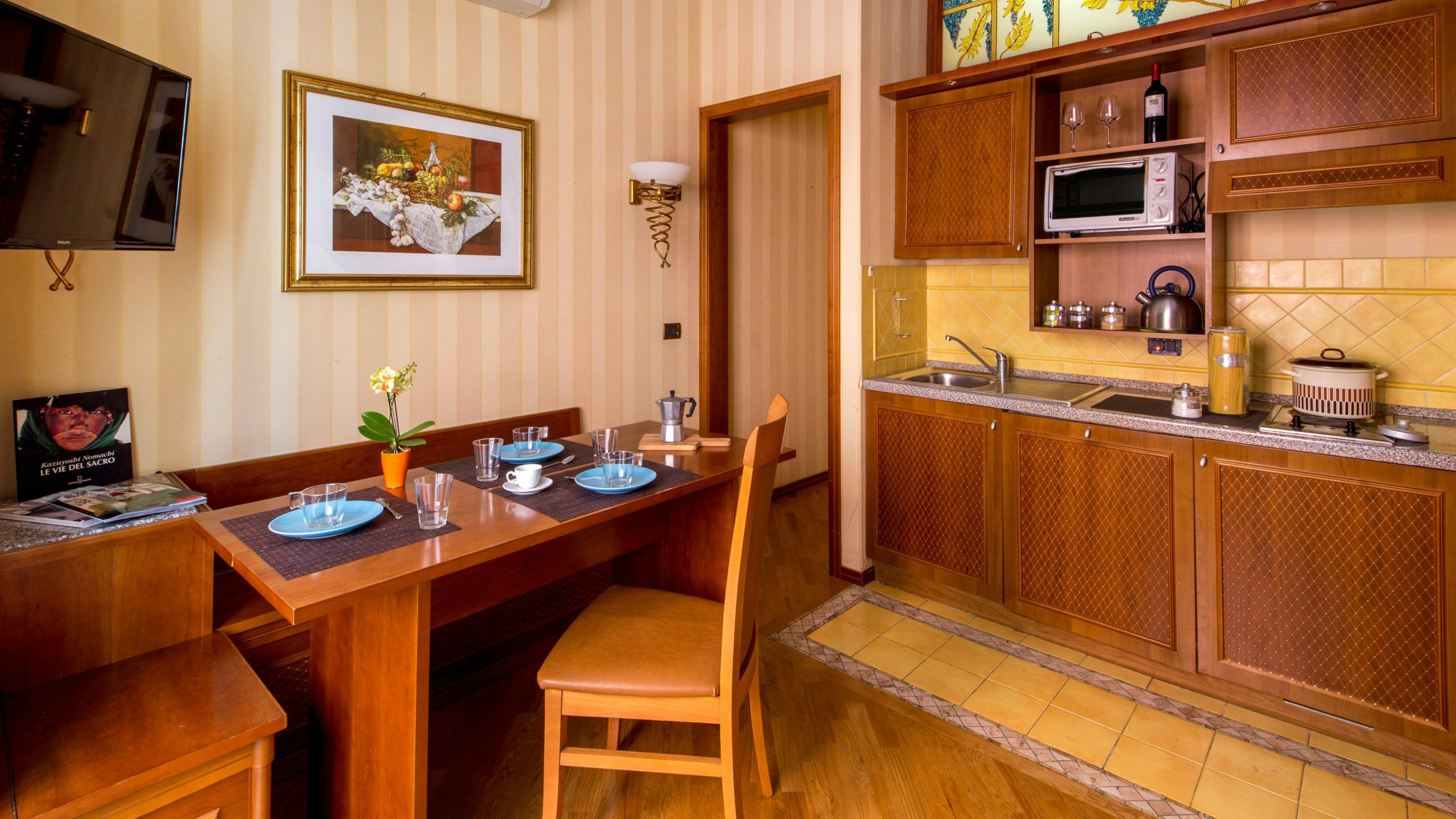 hotel-oxford-rome-kitchen-apartment